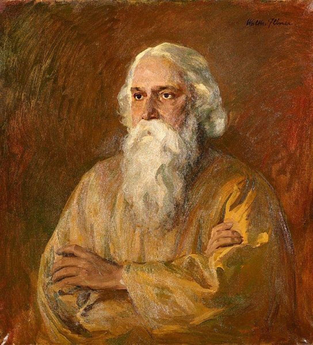 Rabindranath Tagore - Painting