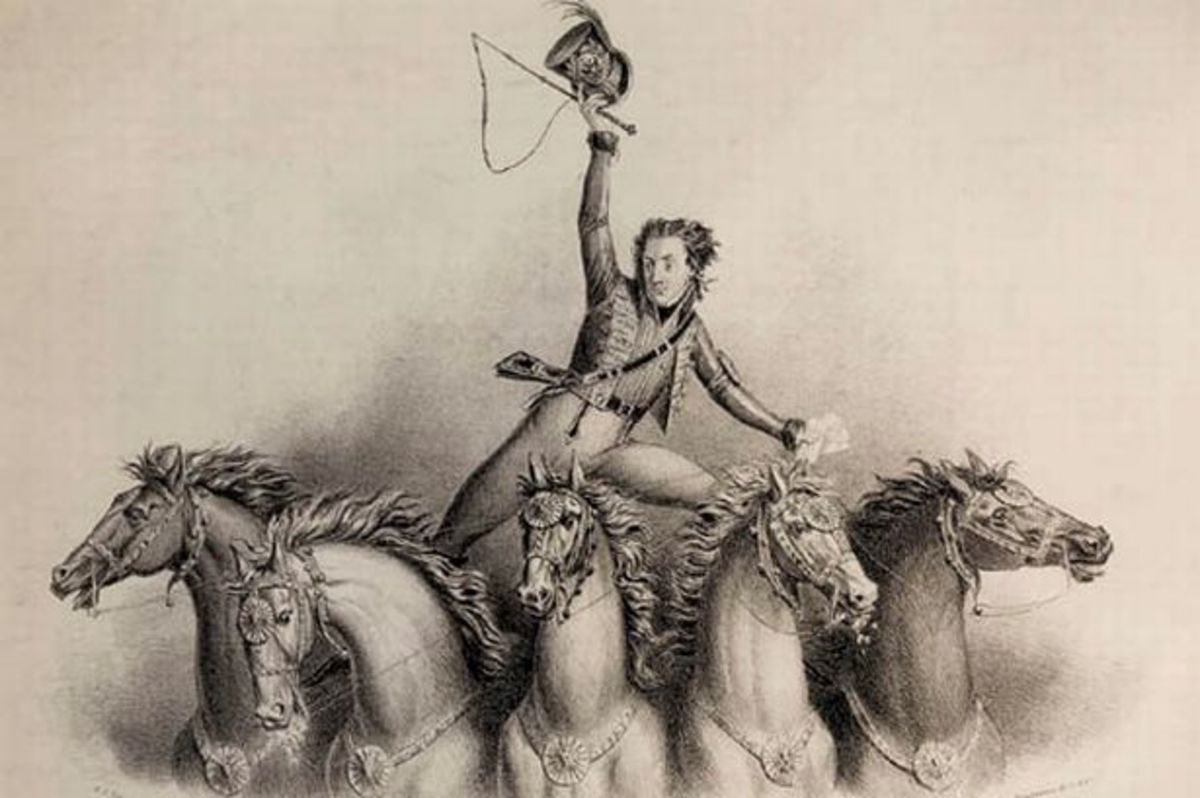 Philip Astley was the founder of modern circus