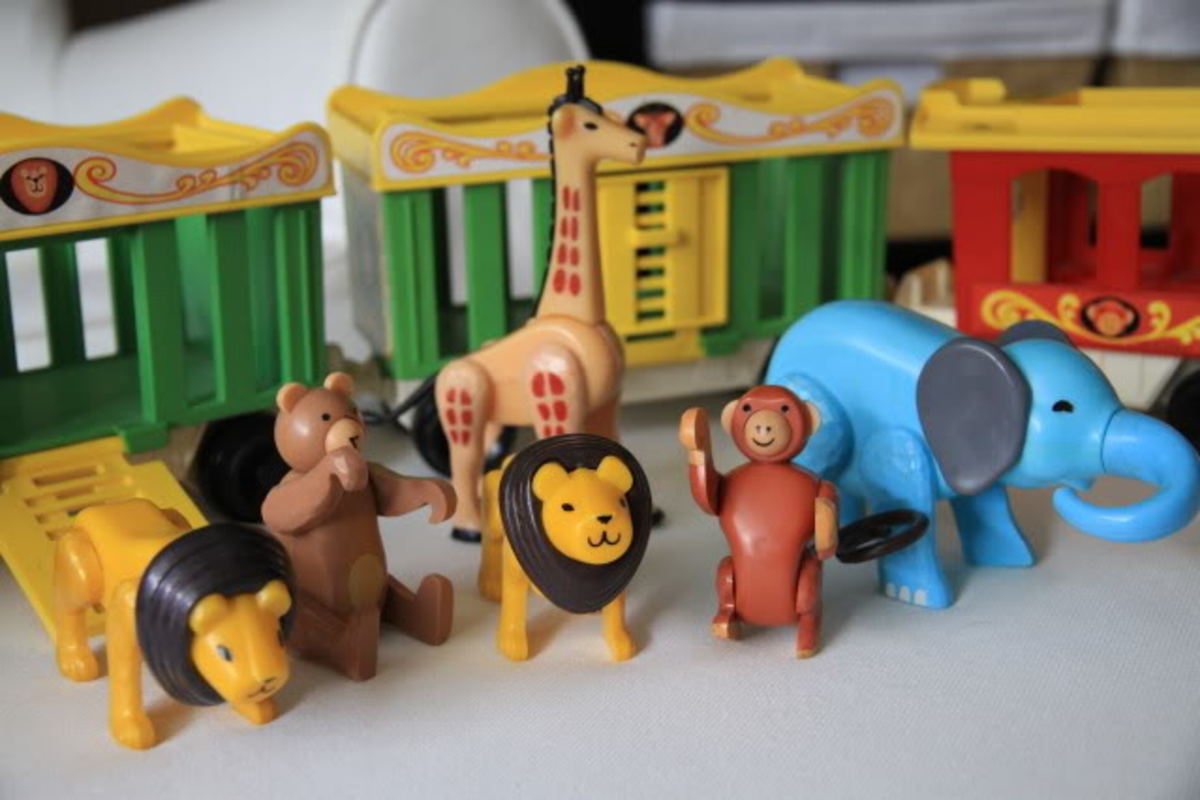 Circus toys for girls and boys!