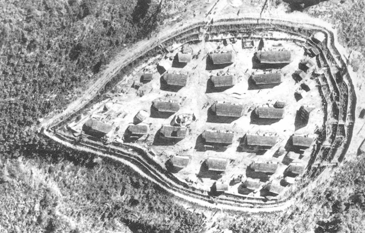 A fortified village in Vietnam