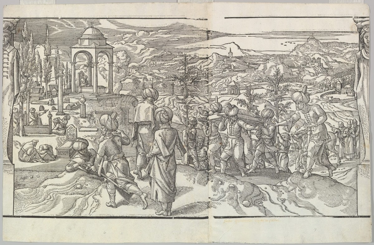Plague was a constantly recurring phenomenon in the Ottoman Empire, which was common in representations of it and required resultant important investments in health institutions to safely trade with the Empire.