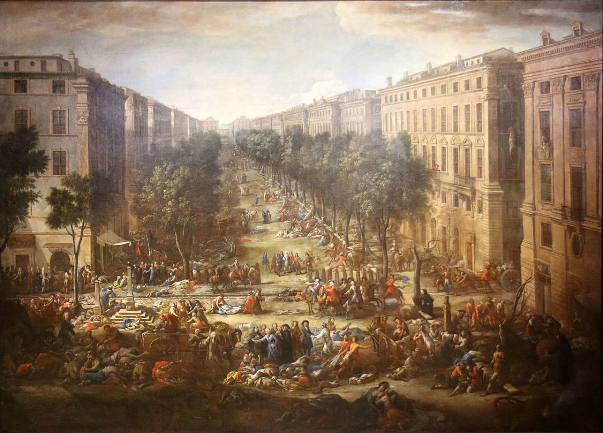 Marseille during the 1720 plague.