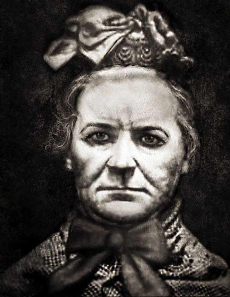 Amelia Dyer was a baby farmer who is thought to have murdered hundreds of children. She was executed in 1896.