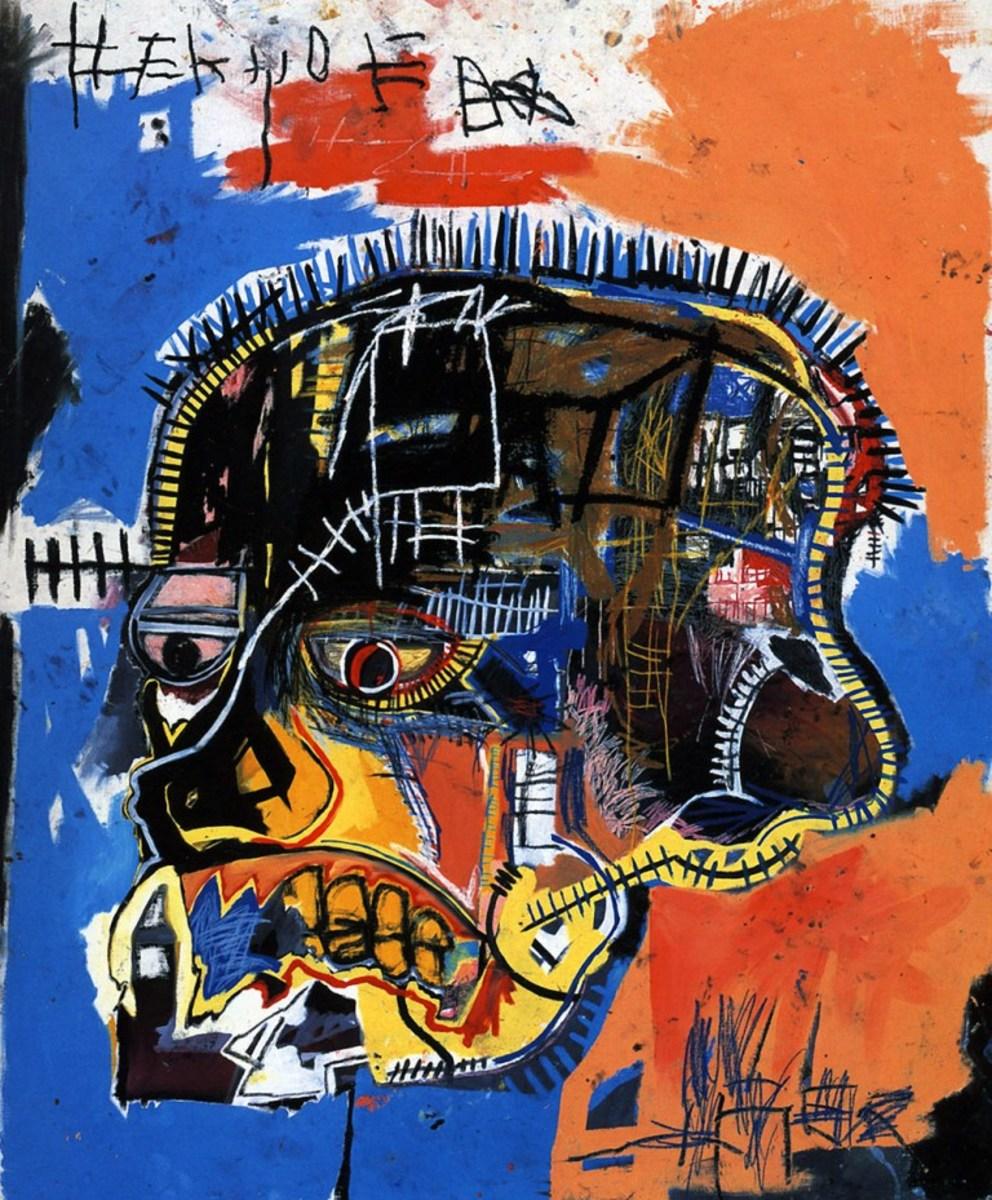 Untitled (Skull) by Jean-Michel Basquiat