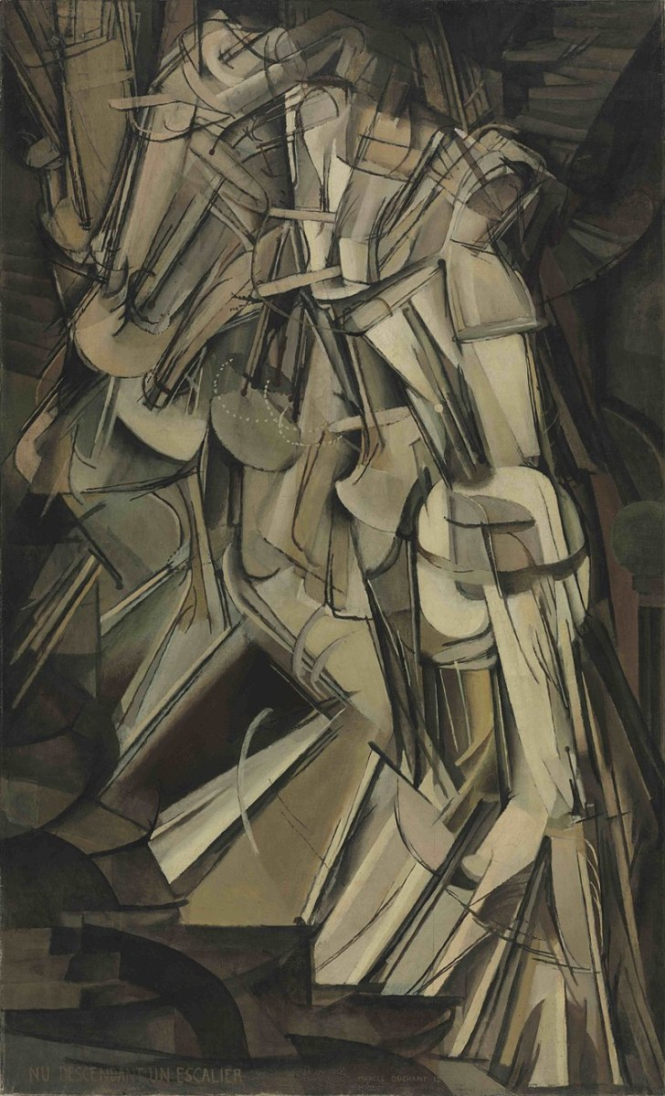 Nude Descending a Staircase No.2 by Marcel Duchamp