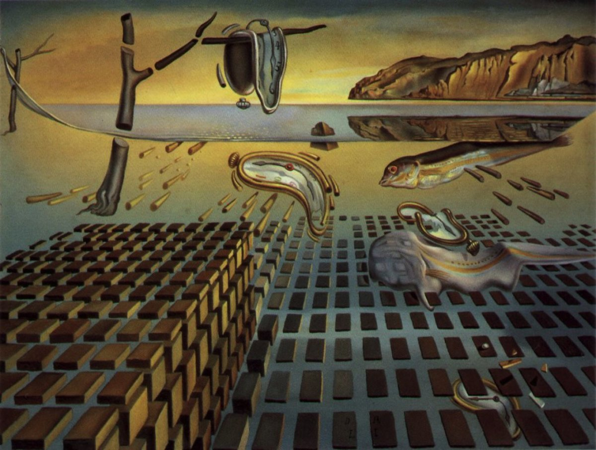 Disintegration of the Persistence of Memory by Salvador Dali