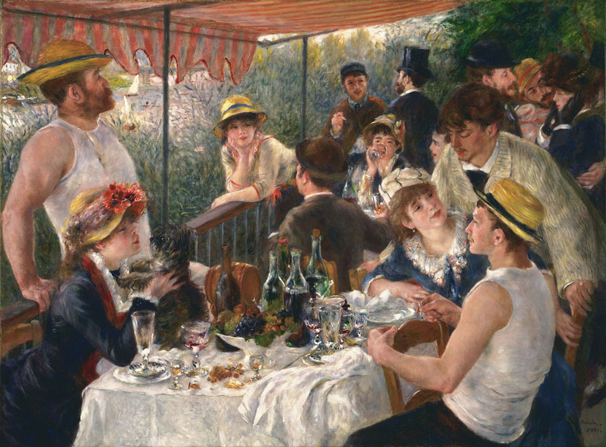 Luncheon of the Boating Party by Pierre-Auguste Renior