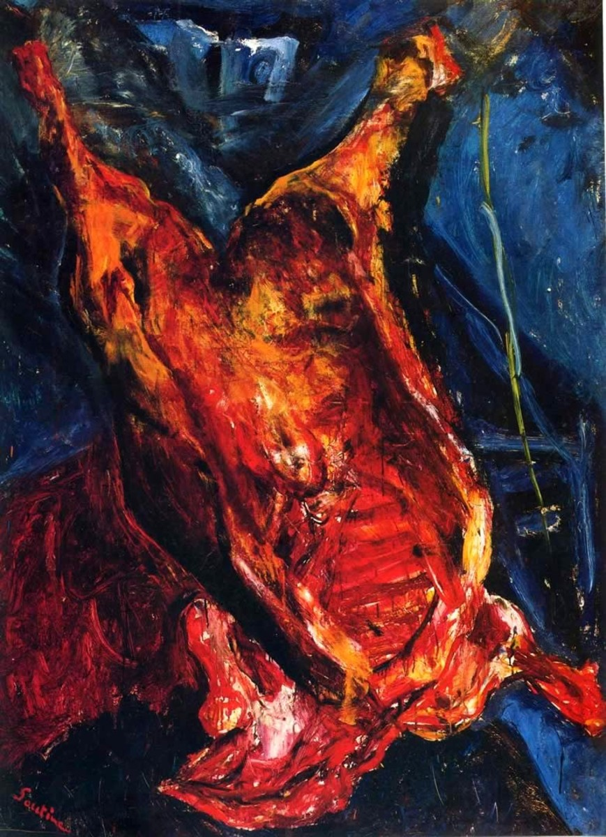 Carcass of Beef by Chaïm Soutine