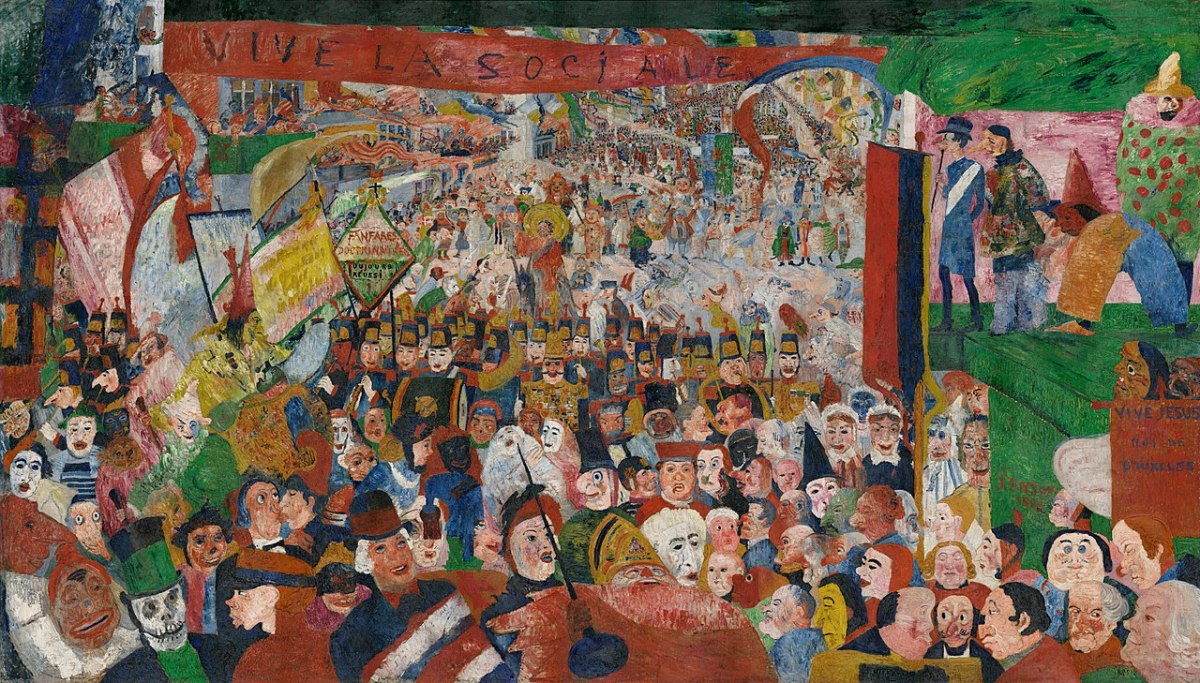 Christ's Entry into Brussels by James Ensor