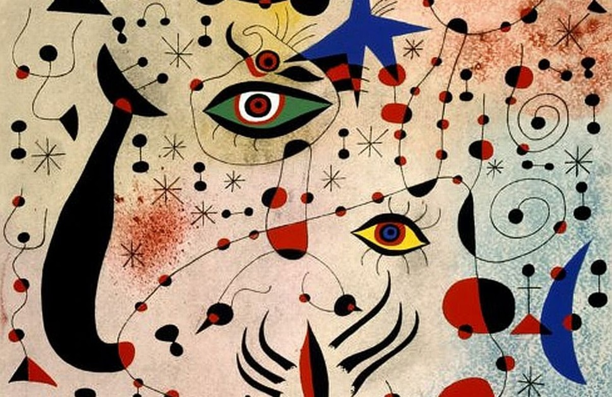 Ciphers and Constellations, in Love with a Woman by Joan Miró