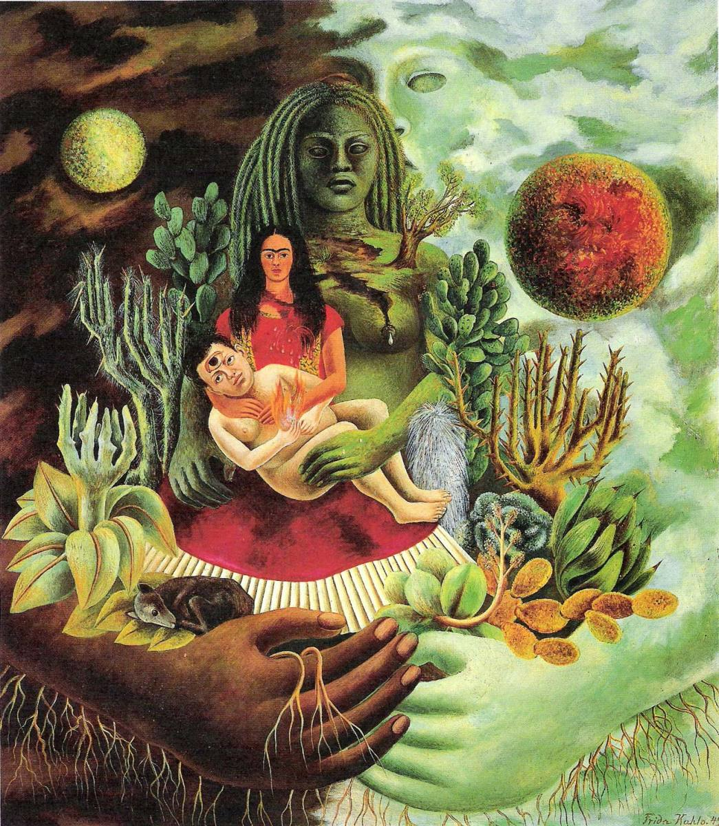 The Love Embrace of the Universe by Frida Kahlo