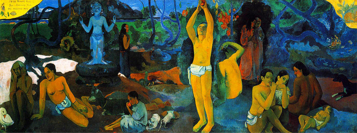 Where Do We Come From by Paul Gauguin