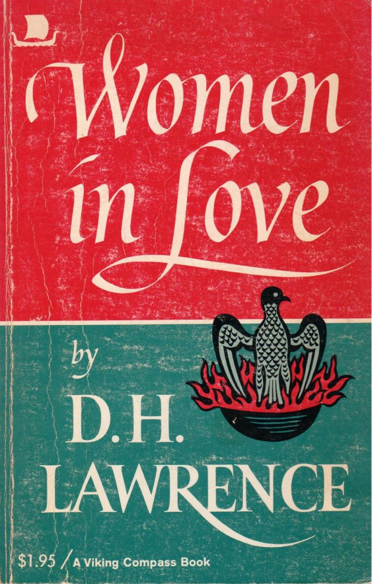 The Women in Love book cover. This is the edition I used.