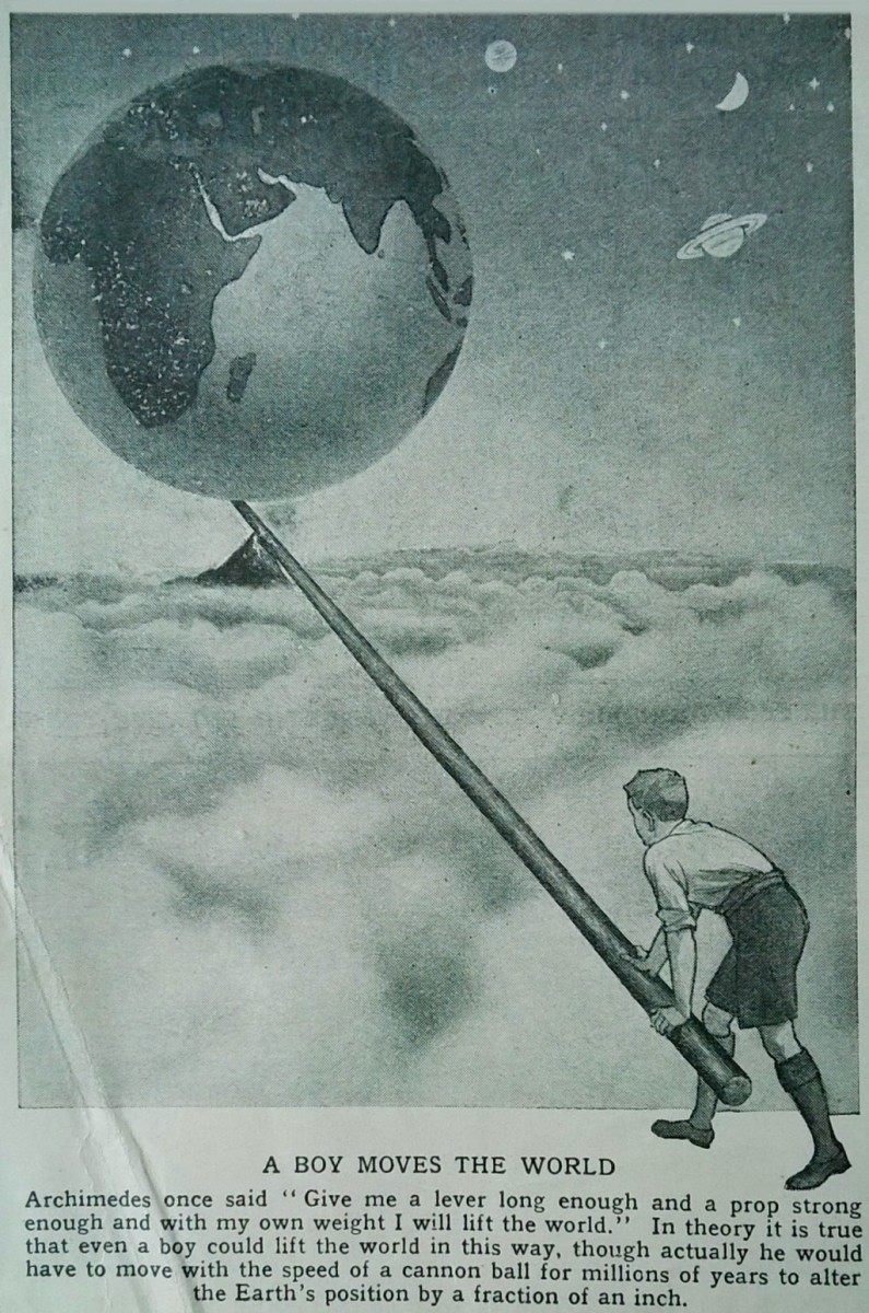 "From ""The World of Wonder"" a children's science periodical from the 1930s"