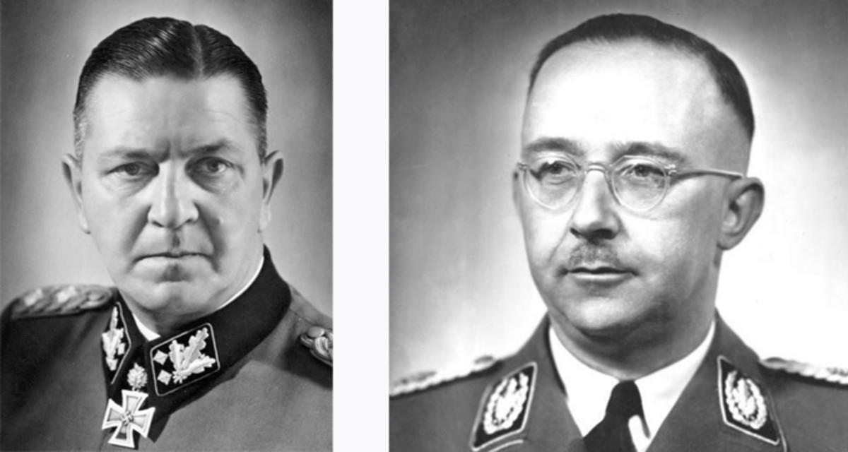 Merciless men: Theodor Eicke and Heinrich Himmler