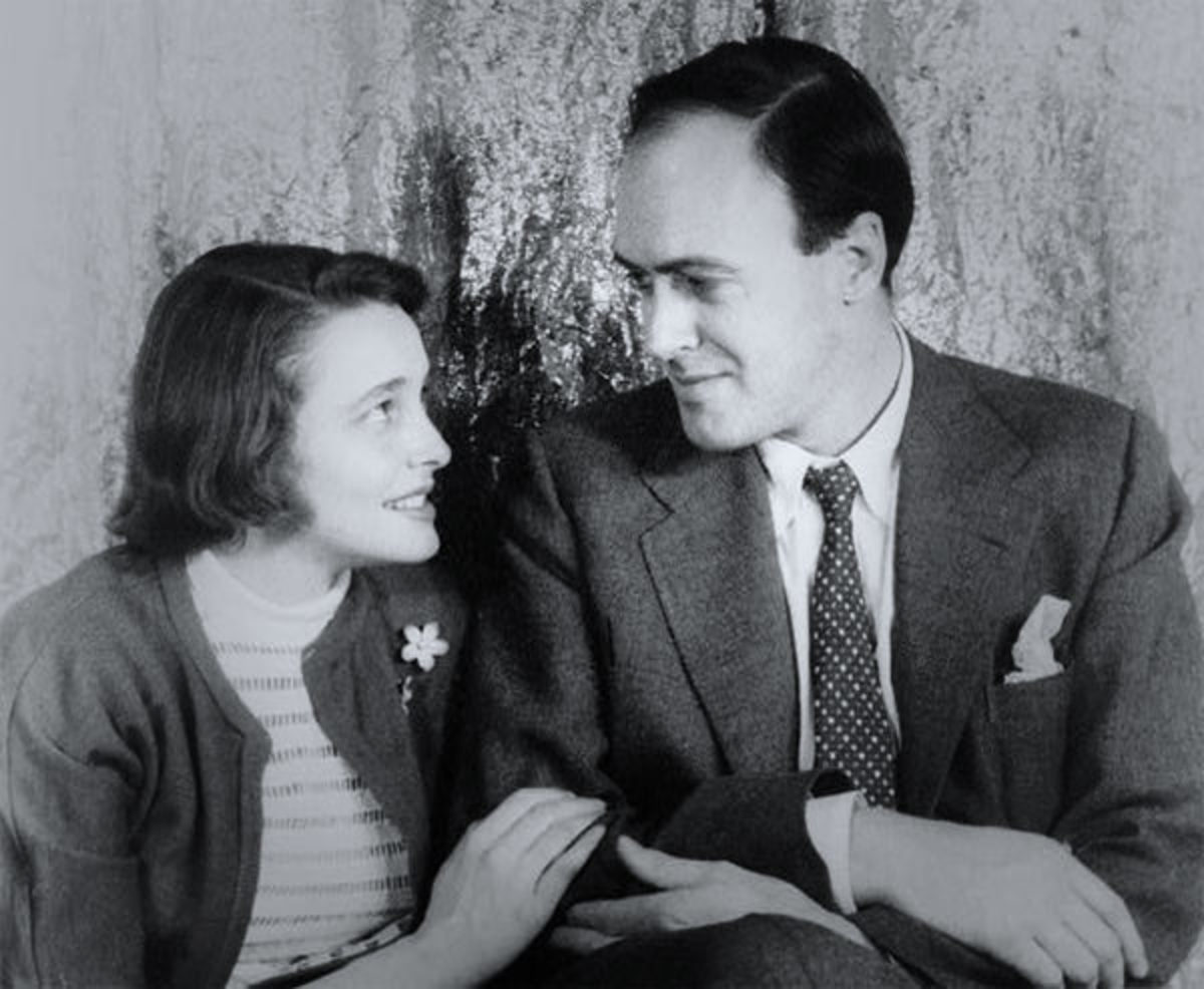Roald Dahl and Patricia Neil