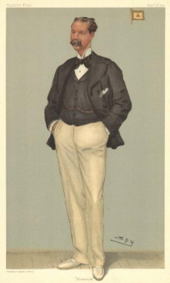 Tommy as he appeared in Vanity Fair in 1901.
