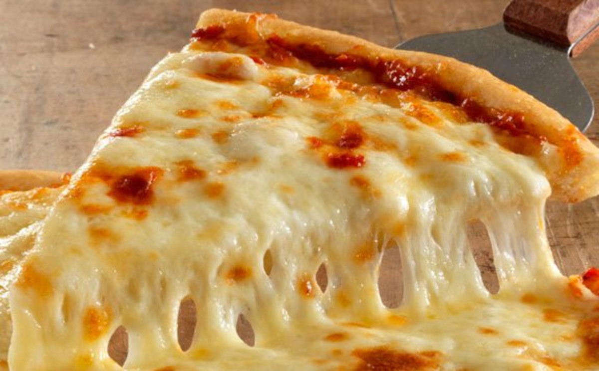 Slice of Cheese Pizza