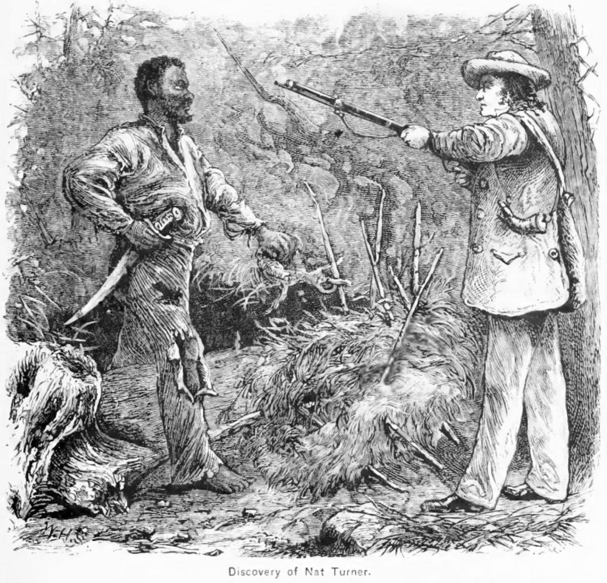 Turner captured by local militia.