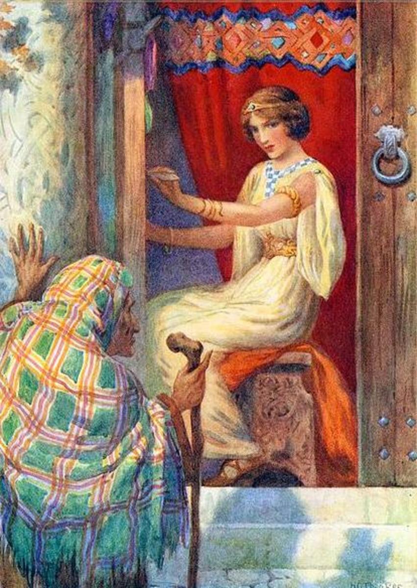 Frigga and the Beldame, 1920