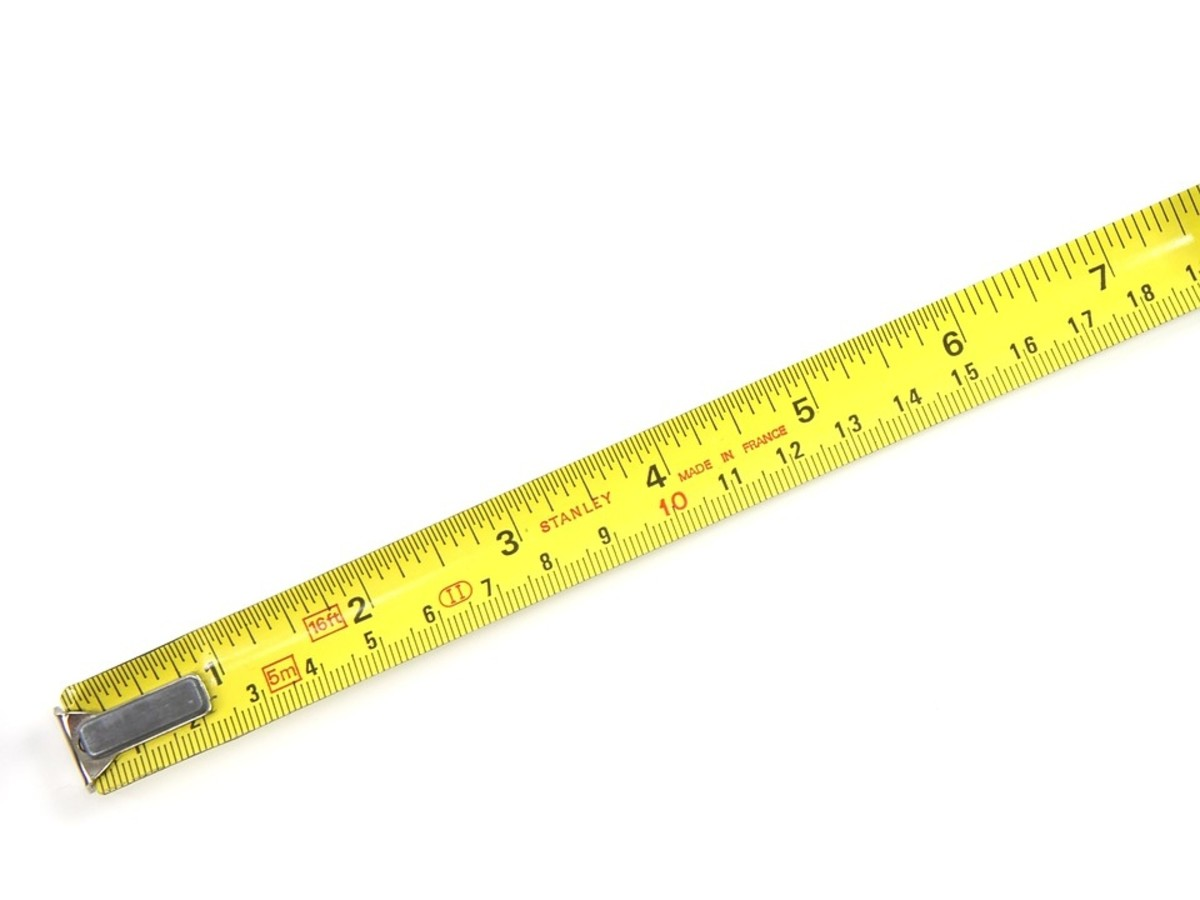 Scientists use the metric system for measurements. The liter is used for volume, meter for length and kilogram for weight. On a tape measure there are about 2 1/2 centimetres in an inch and 100 centimeters in a meter.