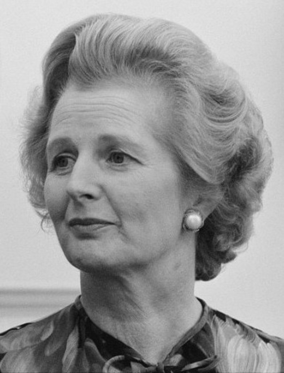 Margaret Thatcher, British Prime Minister from 1979 to 1990. Her policies contributed to the comeback of capital in the 1980s.