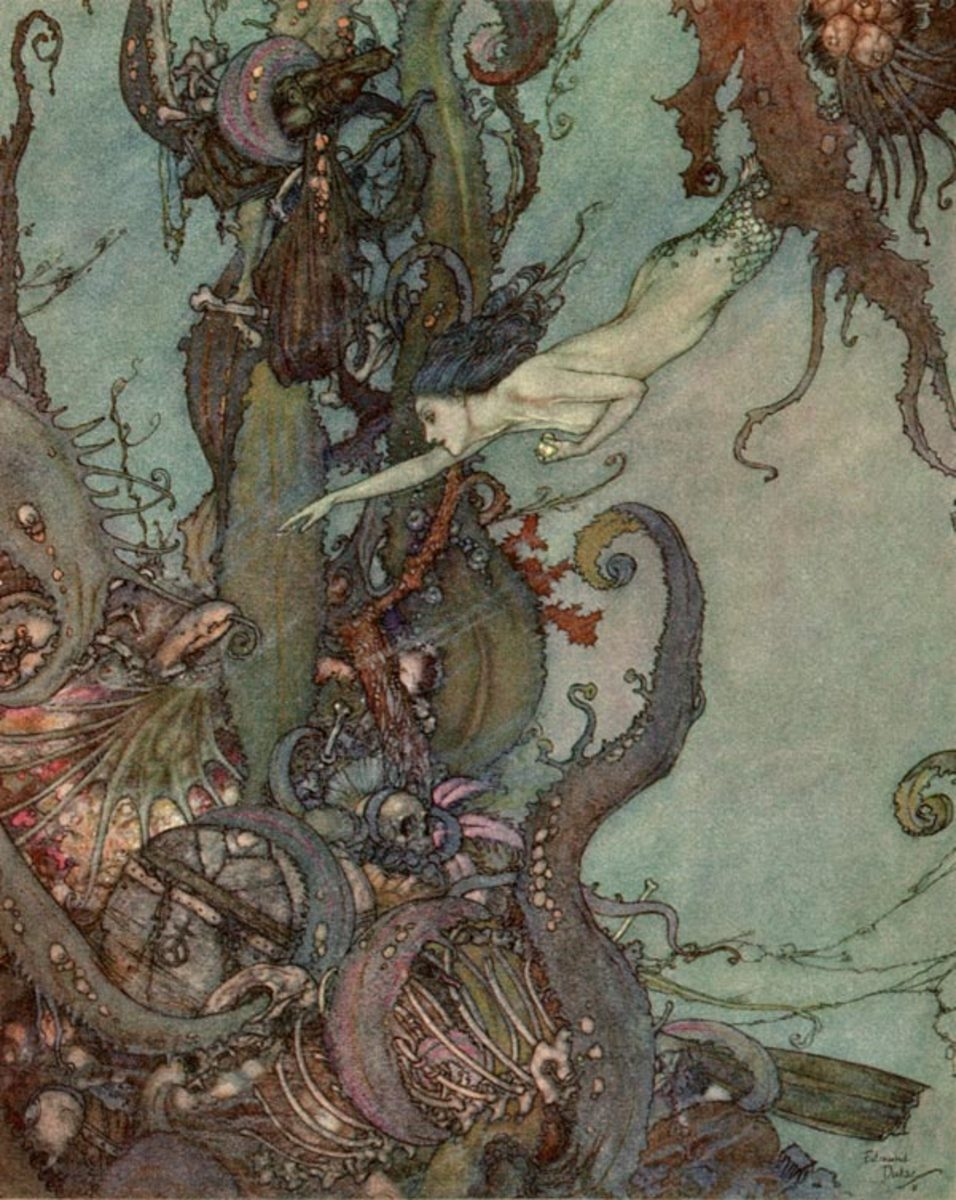 Edmund Dulac, The Little Mermaid