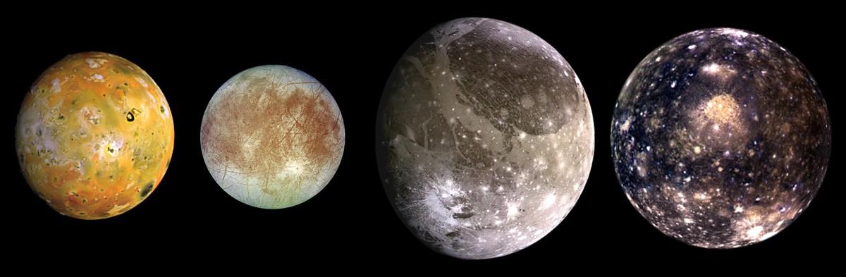 Jupiter's Galilean Moons