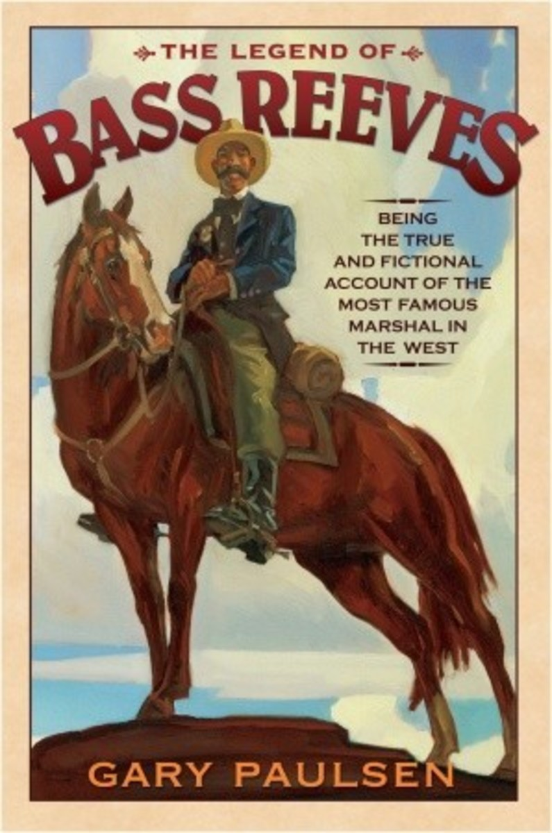 Book about Bass Reeves by Gary Paulson