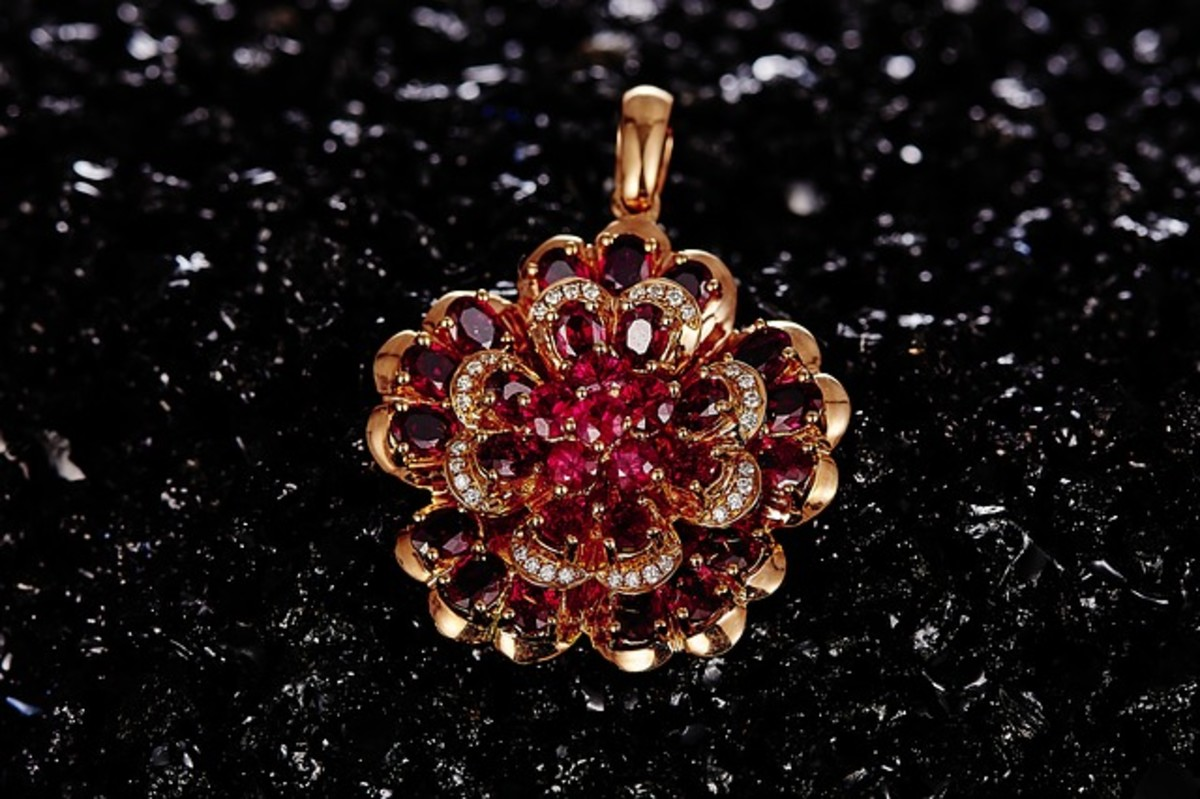 Rubies are highly prized in the making of jewelry