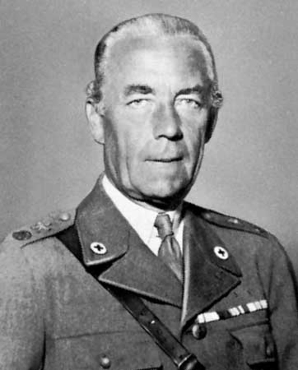 Folke Bernadotte was tasked with negotiating peace for the newly created state of Israel. In 1948 he was murdered by Jewish terrorists who accused him of favouring Arabs.