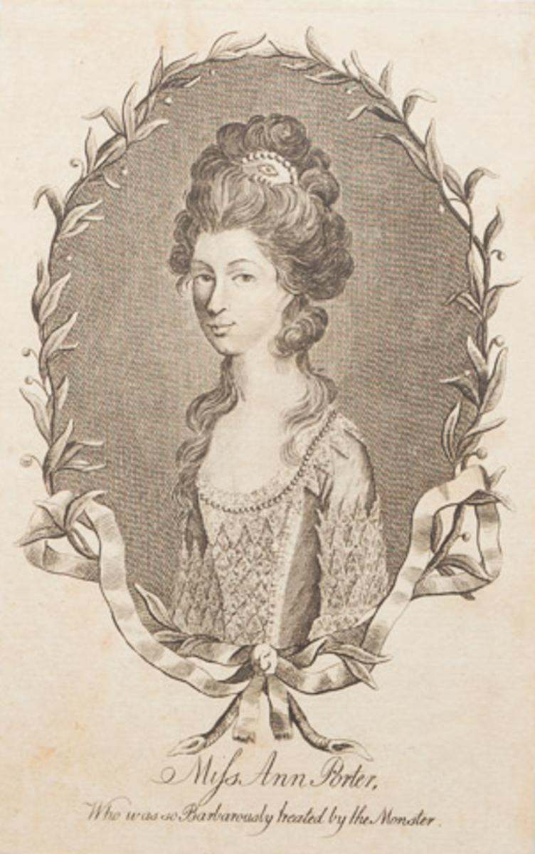 Anne Porter. The alleged damsel in distress.