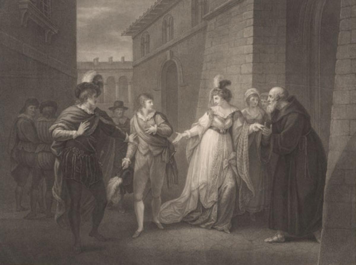 Twelfth Night. ACT V. SCENE I. The Street. Duke, Viola, Antonio, Officer's, Olivia, Priest & Attendants.