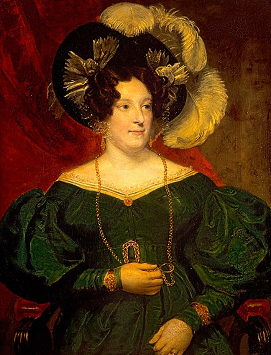 Painting of Queen Caroline