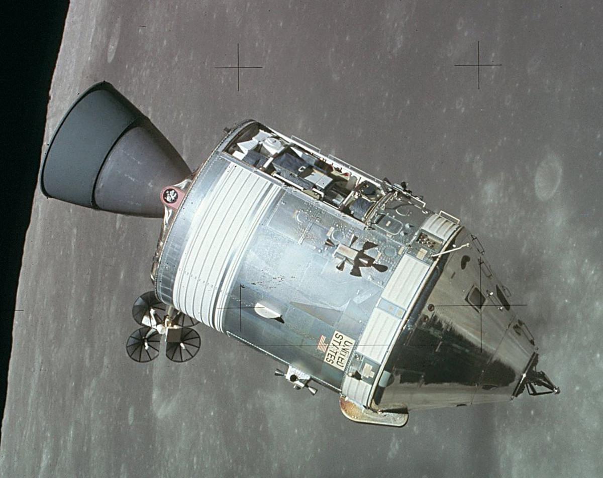 Apollo 11 Command and Service Module.