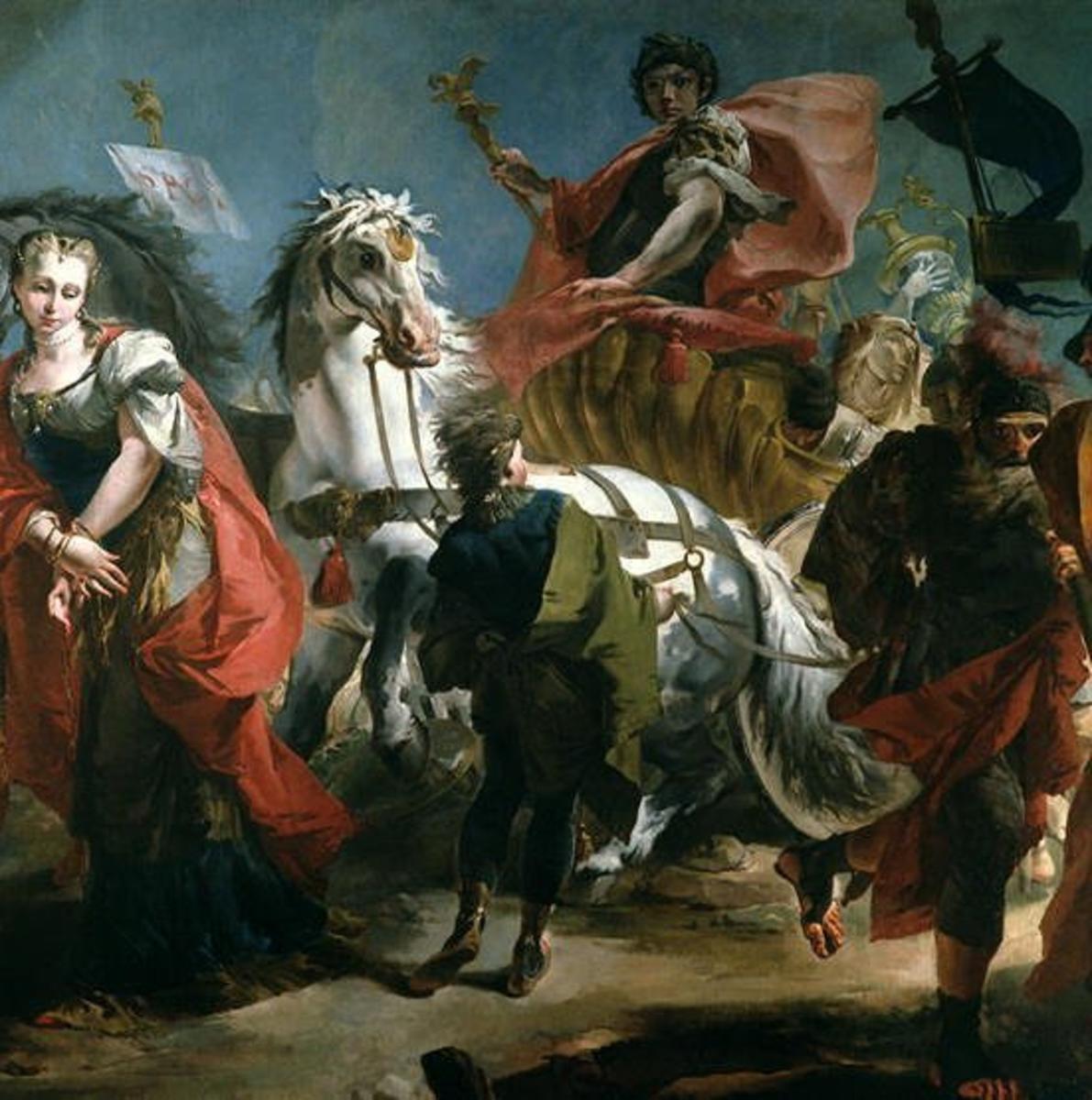 """""""The Triumph of Marcus Aurelius"""" by Giovanni Domenico Tiepolo"""