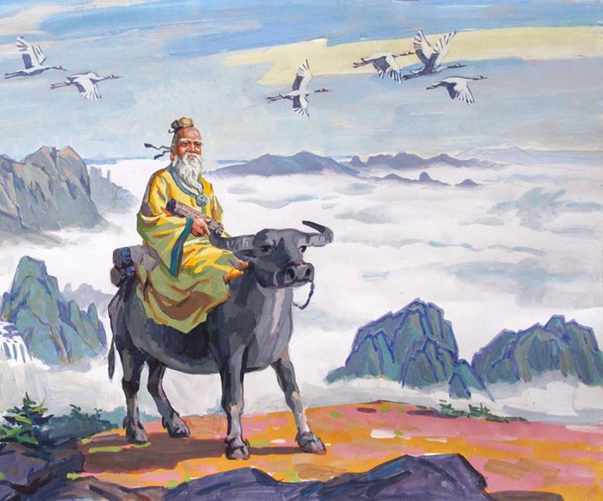 """Lao Tzu"" by Kenson Seto"