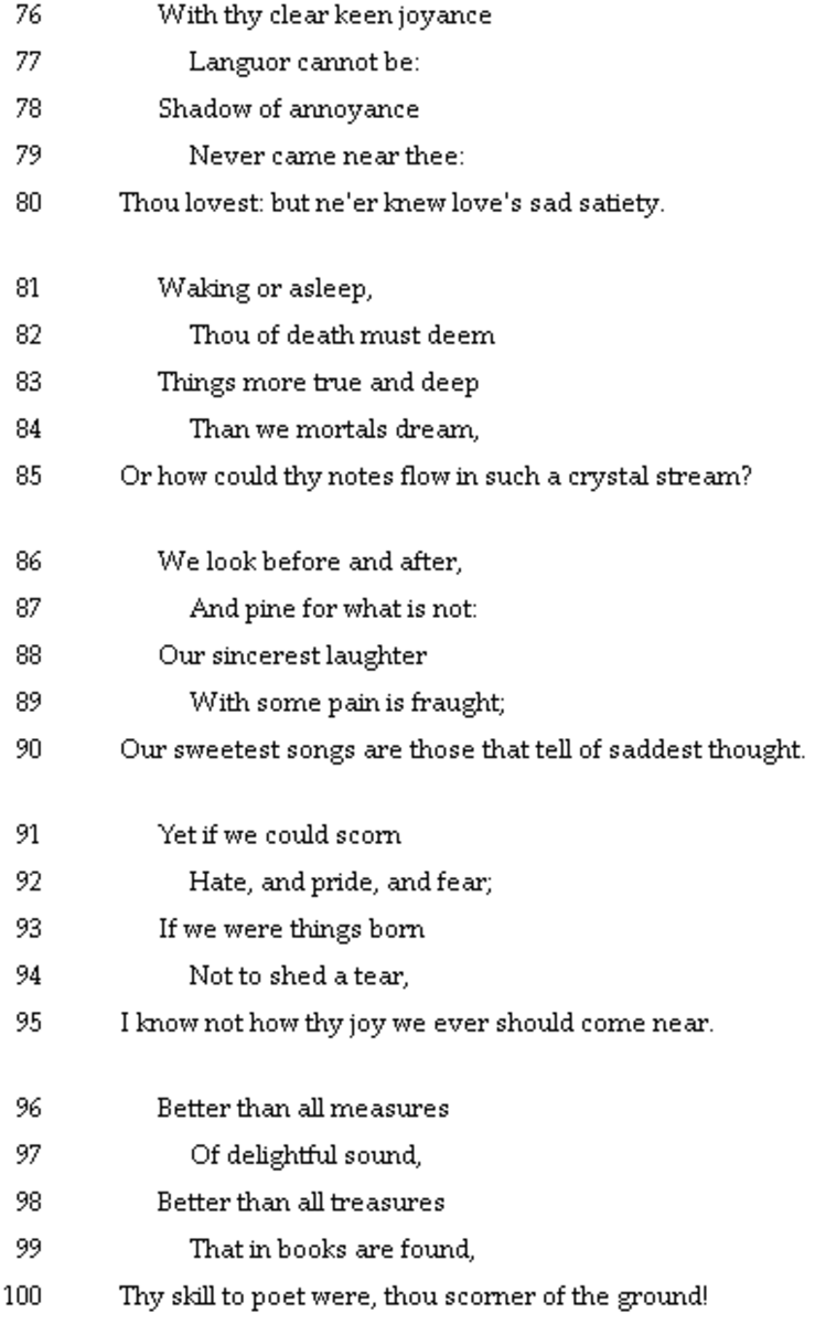 analysis-of-poem-to-a-skylark-by-percy-bysshe-shelley