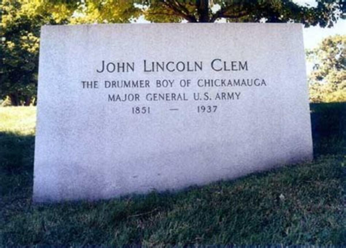 John Clem grave marker