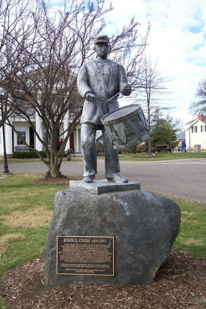 John Clem statute in Newark, Ohio