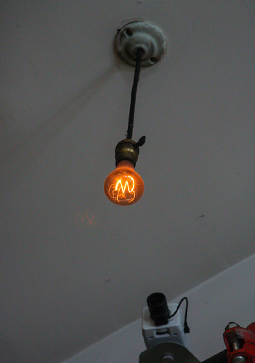 The Centennial Light and a webcam that is destined to die before the bulb.