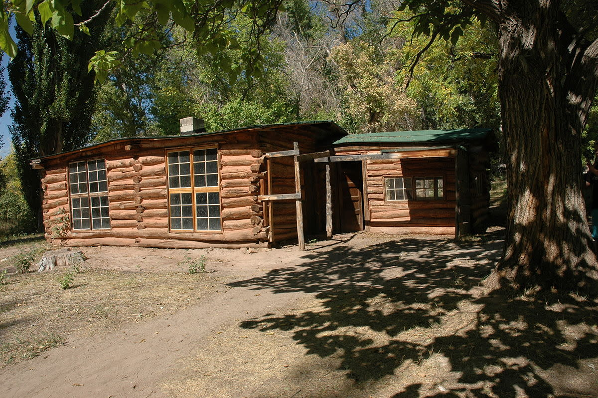 The cabin where Josie Basset lived in her later years