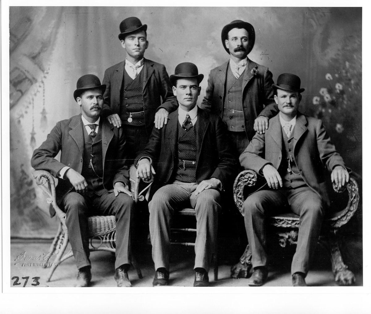 Butch Cassidy and his group of outlaws The Wild Bunch often spent time at the Basset home