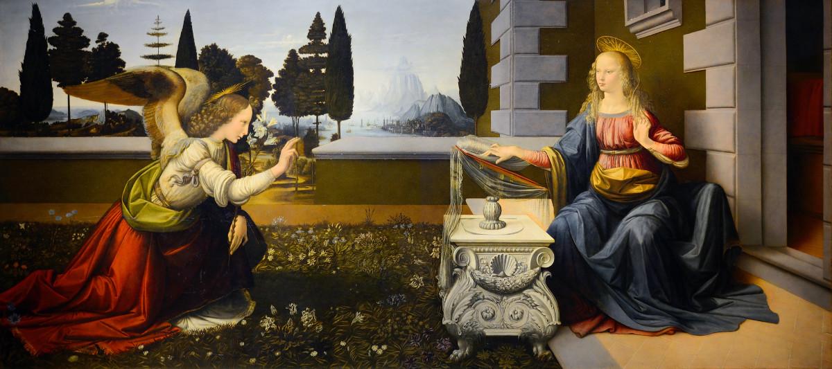 Annunciation (Leonardo da Vinci)
