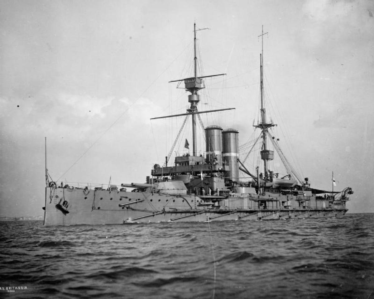 HMS Britannia (1904)