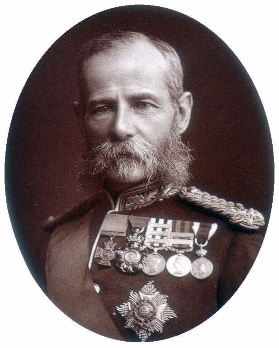 Lord Roberts, General Commanding British Forces in South Africa