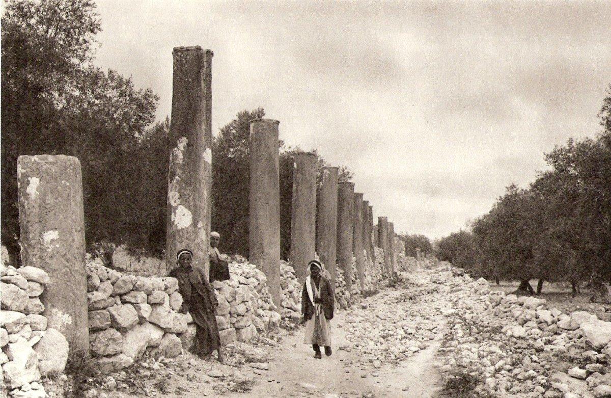Ruins of Samaria (1925)