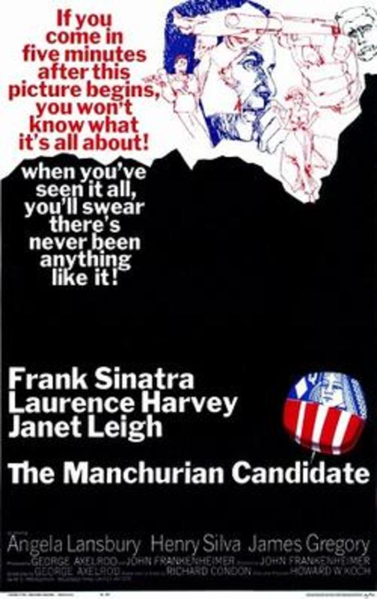 Film Poster for 'The Manchurian Candidate' (1962)