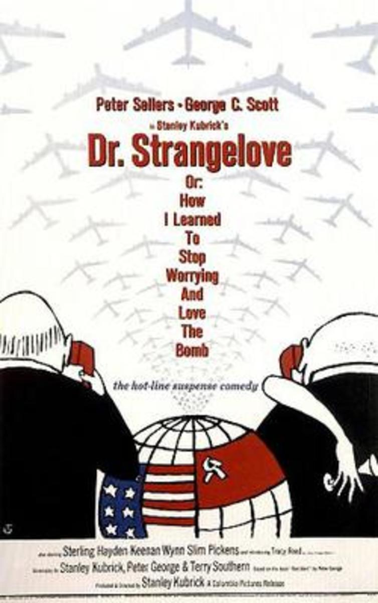 Film Poster for 'Dr Strangelove' (1964)