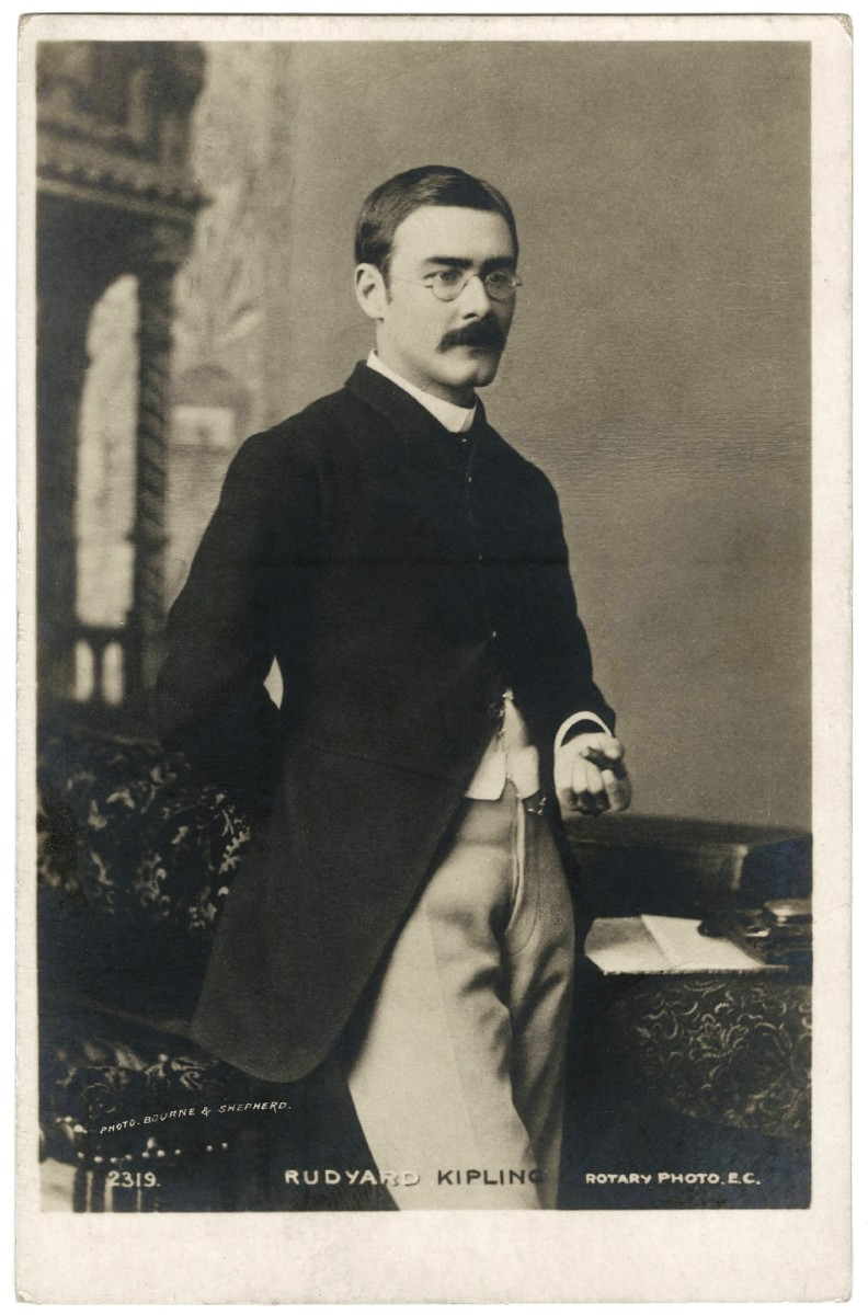 Rudyard Kipling, by Bourne & Shepherd, Calcutta (1892)